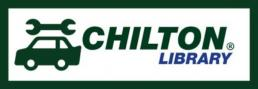 Chilton logo with a wrench above a car